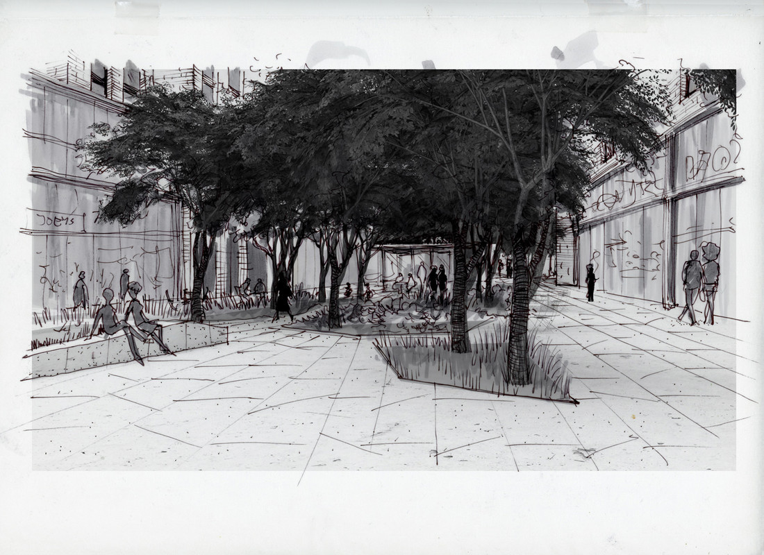 Plaza-Entry