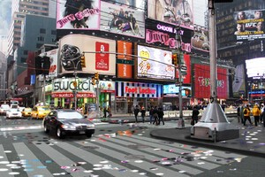 Times Square Redevelopment and Pedestrianization